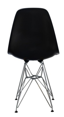 Childs DSR Chair In Black Rear Shot