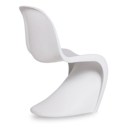 Junior Panton Chair In Uwhite Rear Angle