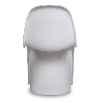 Junior Panton Chair In White Rear View