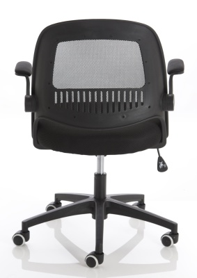 Context Mesh Chair With A Black Back Rear View