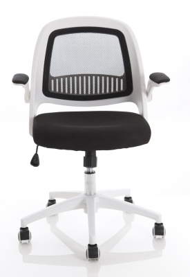 Context Mesh Chaitr With W White Frame Front View
