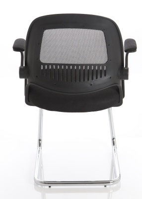 Context Mesh Cantilever Chair Rear View