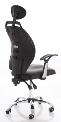 Spire Ergonomic Chair Rear Angle View