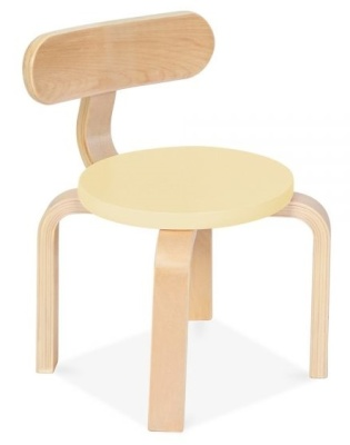 Chill Childrens Chair With A Yellow Seat