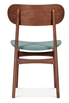 Ontario Odining Chair With A Teal Seat Rear View