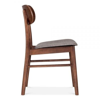 Ontario Chair With A Light Grey Seat Side View