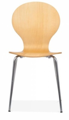 Butterflly Chair Natural Finish Front Face