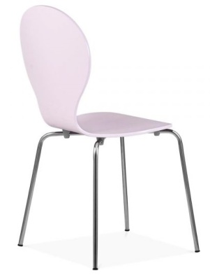 Butterfly Chair Pink Finish Rear An Gle