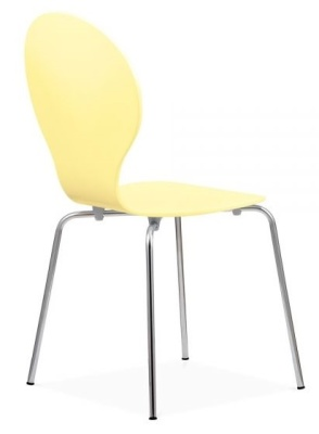 Butterfly Chair In Lemon Rear Angle