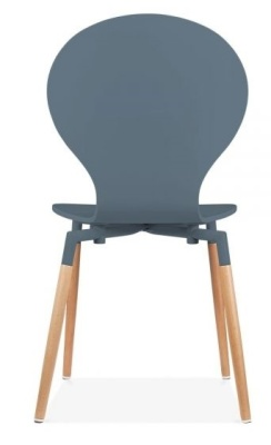 Buterfly Nouveau Chair In Grey Rear View