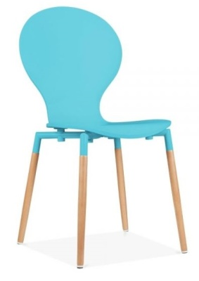Butterfly Nouveau Chair Sky Blue Front Angle