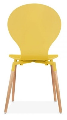 Butterfly Nouveau Chair In Yellow Rear View
