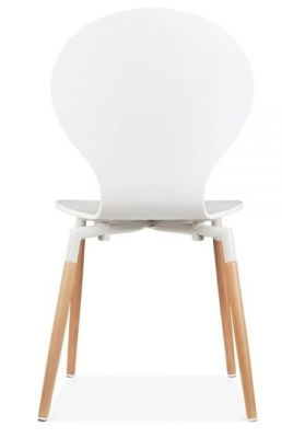 Buterfly Nouveau Chair In White Rear Shot