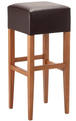 Helena Wooden High Stool
