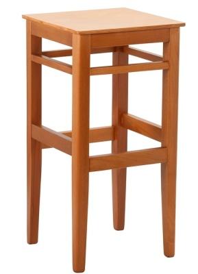 Ocar Wooden High Stool