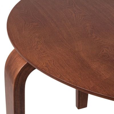 Stylo Table Walnut Detail