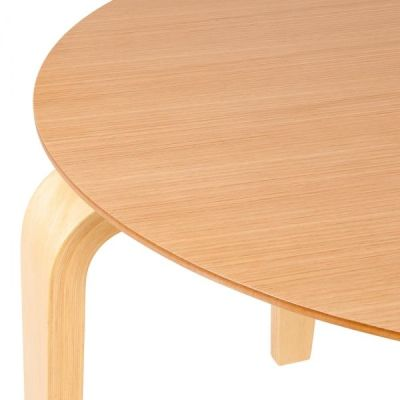 Stylo Table Natural Finish Detail
