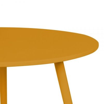 Topaz Table In Mustard Detail