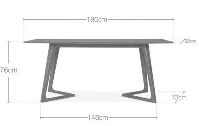 Lovelle Table Dims