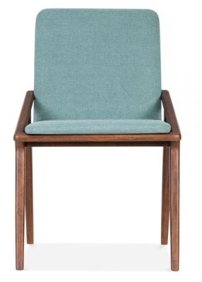 Welbec Chair Dark Teal Front View
