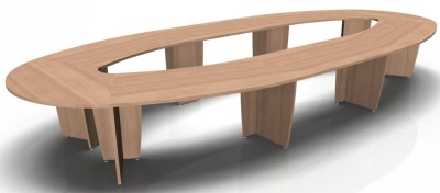 Select Oval Table Without Modesty Panels