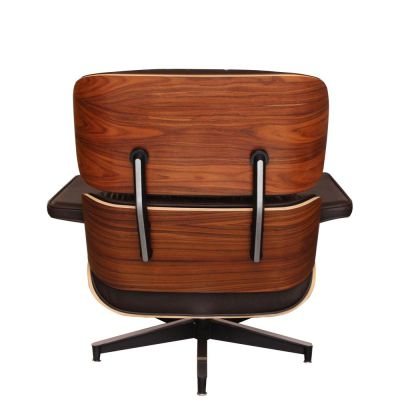 Eames BROWN ROSEWOOD BACK