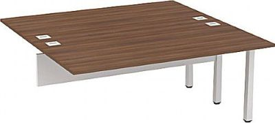 Avalon Two Person Compact Extension Bench Desk