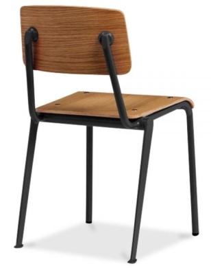 Skolar School Chair Rear Angle