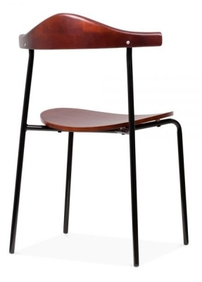 Alisa Dining Chair Rear Angle