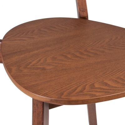 Joshua Chair In Walnut Detail Soot