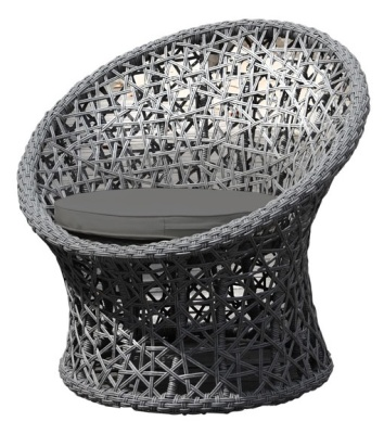 Lattice Outdoor Weave Chair