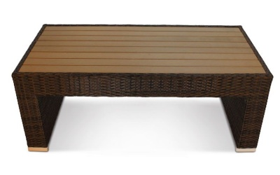 Cuba Low Table With Plaswood Top 1
