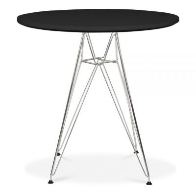 Eames DSR Table With A Black Top 2