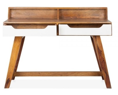 Beck Solid Mango Desk 3