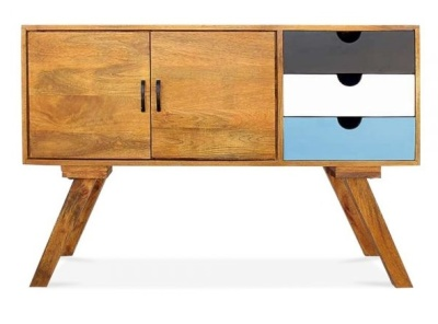 Josephione Credenza Light Blue Front Front Shot