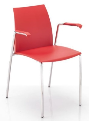 Tucker Chair With Arms Angle Shot