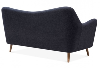 Rebecca Two Seater Sofa Rear Angle