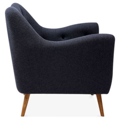 Rebecca Single Seater Armchair Side View