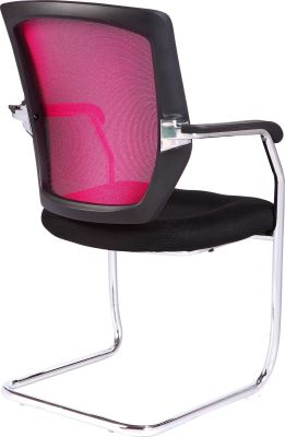Regatta Chair Wit A Red Mesh Back From The Rear