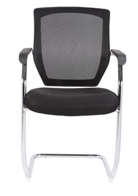 Reatta Chair With A Black Mesh Back From The Front