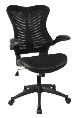Santos Mesh Task Chair With A Black Mesh Back