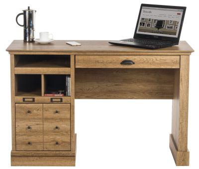 Paignton Scribed Oak Desk 4
