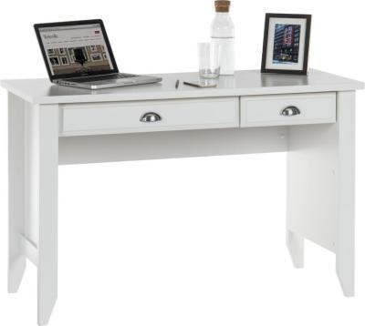 Sienna Soft White Study Desk 1