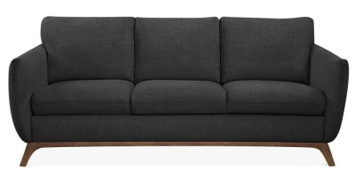 Condor Three Seater Sofa In Dark Grey