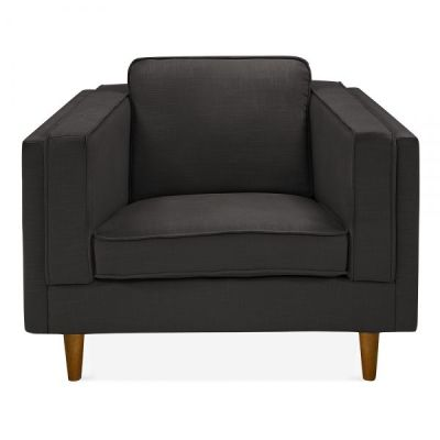 Eddie Single Seater Sofa Dark Grey