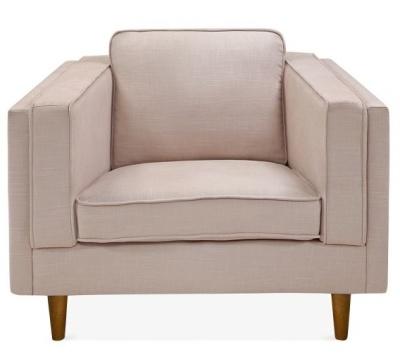 Eddie Single Seater Sofa Cream Fabric