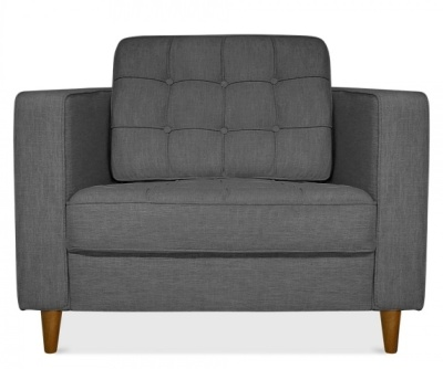 Gustav Single Seater Sofa Front View