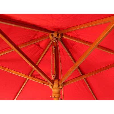 Parade Red Parasol Detail 2