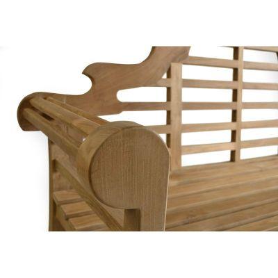 Salcombe Three Seater Bench Detail Shot