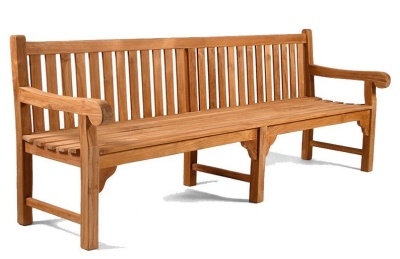 Westlea 8 Person Teak Bench